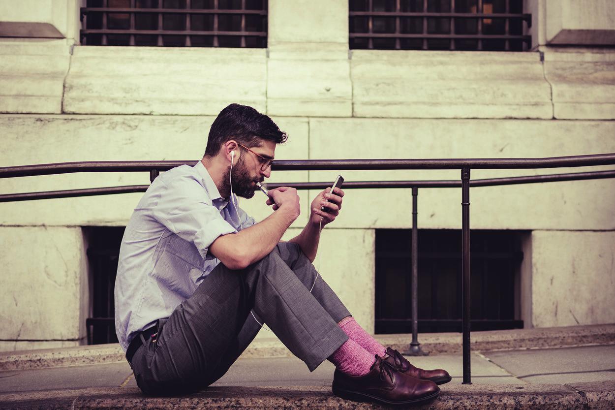 Online dating smoking