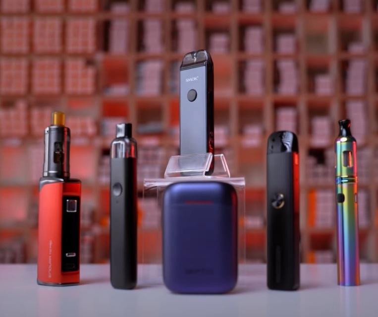 Innokin T22 Pro, Geekvape Wenax K1, Caliburn G are the vape kits for vaping CBD