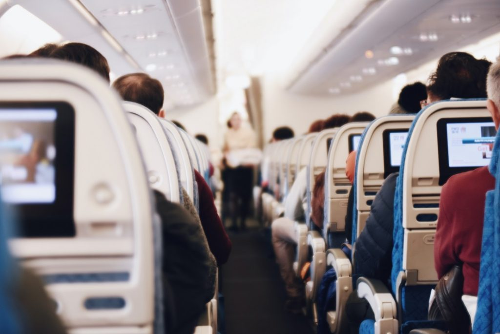 no vaping on a plane