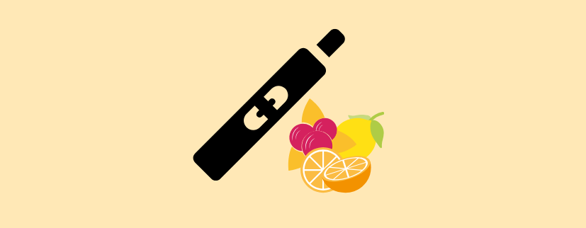 JUUL vape with flavours