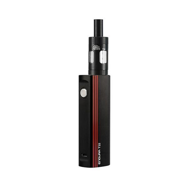 Black/red INNOKIN T22 behind a white background