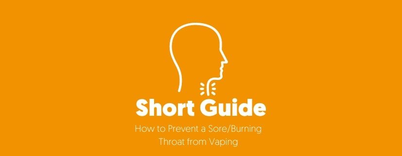 featured image of How to Prevent a Sore_Burning Throat from Vaping-Featured Image (1)