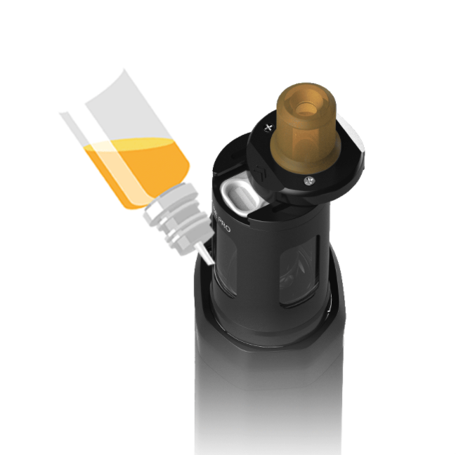 Adding vape juice to T22 Pro tank