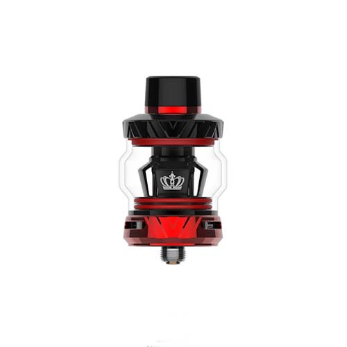 Red and black Uwell Crown V sub-ohm tank