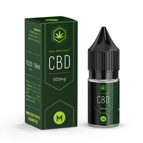 A picture of CBD booster shot made by MIST
