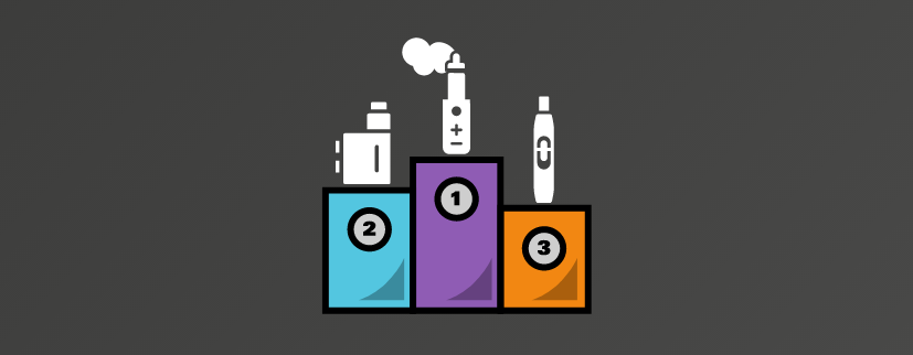 Featured image of the Top 10 Best Vape Brands & Manufacturers