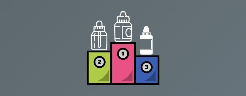 featured image of MIST's top 8 best MTL vape juice blog