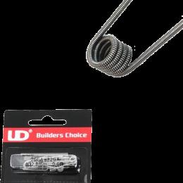 UD Pre-Built Clapton Coils x10 (0.6ohm)