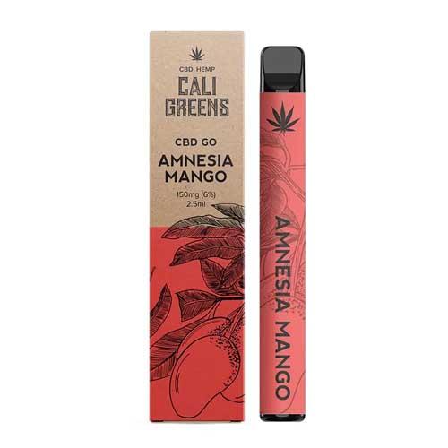 Cali Greens Amnesia Mango Disposable CBD Vape Pen