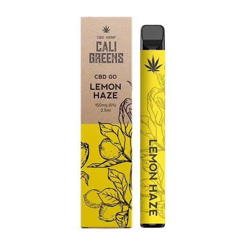 Cali Greens Lemon Haze Disposable CBD Vape Pen