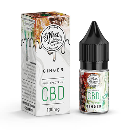 Ginger - CBD 10ml 100mg by misteliquid.co.uk