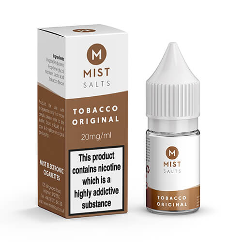 Tobacco Original Nic Salt 10ml by misteliquid.co.uk