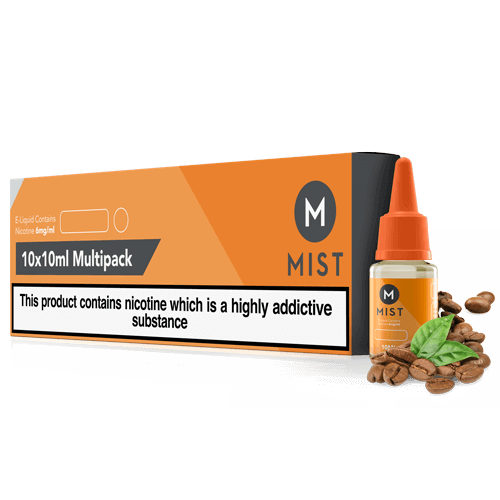 Coffee E Liquid 100ml (10x10ml) by misteliquid.co.uk