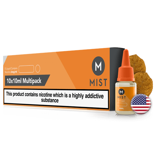 USA Mix Tobacco E Liquid 100ml (10x10ml) by misteliquid.co.uk