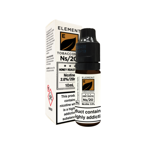 Element E-liquid - Honey Roasted Tobacco Nic Salt 10ml