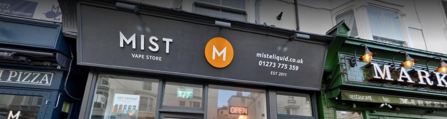 Mist UK - Premium Vape Shop in Brighton | Best E Cigarette Liquid Flavours